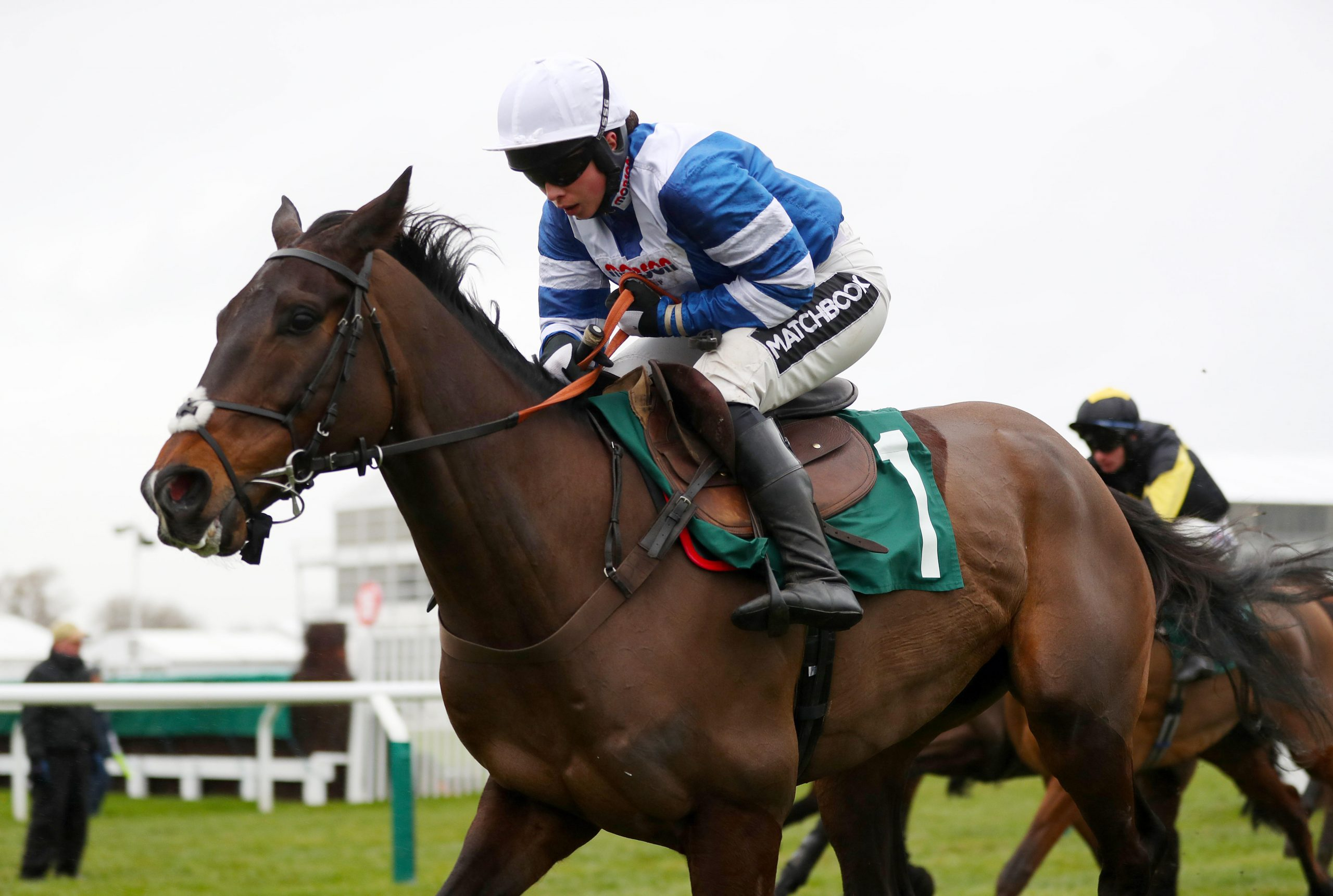 Frodon ridden by Bryony Frost in the BetBright Trial Cotswold Chase during Festival Trials Day at Cheltenham Racecourse.